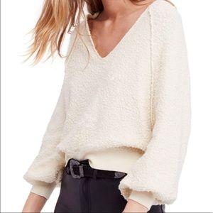 Free People Found My Friend V-Neck Sweater